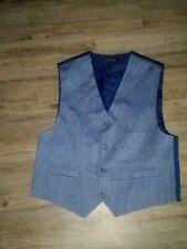 Boys Unbranded Navy Suit Vest Sz 20 Reg (XXL) Nice!