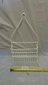 Hanging Shower Organizer Shelf Bathroom Storage Rack Over Shower Head (0303-12)