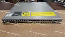 Servicios empresariales WS-C4948E-E de Cisco IOS Switche 4948E-E Gigabit SFP + de 4948
