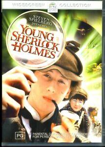 Young Sherlock Holmes - Steven Spielberg 1985 - DVD - Region 4 - FAST POST