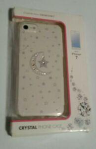 Case with Swarovski crystal moon & stars iPhone 7 iPhone
