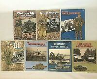 Concord Publications Lot Of 7 PB Books Bulge Wehrmact Waffen-SS Paratroopers