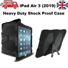 Shockproof Heavy Duty Rubber Hard Case Cover for iPad Air 3 (A2152/A2123/A2153)