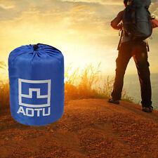 Portable Lightweight Fleece Sleeping Bag Camping Outdoor Travel Hiking IB