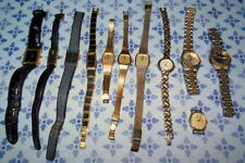 LOT OF 11 PULSAR WATCHES - VARIOUS CONDITIONS, USED