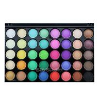 40 Colors Cosmetic Matte Eyeshadow Cream Eye Shadow Makeup Palette Shimmer Set