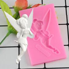 3D Fairy Silicone Mold Gumpaste Chocolate Clay Candy Mold Fondant Cake Decor DIY