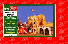 BUM Models 1/72 MEDIEVAL TOWN of PARVA with OTTOMAN ARMY Figure Set