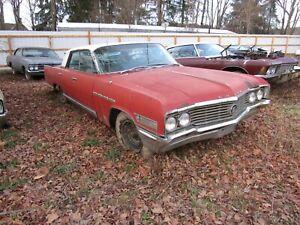 1964 BUICK ELECTRA PARTS CAR - 401 NAILHEAD ENGINE 4 BARREL CARB  ELECTRA 225