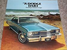 1976 Dodge Dart Hardtops Sedans & Coupe Sales Brochure