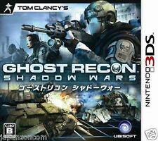 Used 3DS Tom Clancy's Ghost Recon: Shadow Wars  NINTENDO 3DS JAPANESE  IMPORT