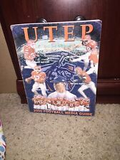 2000 UTEP COLLEGE FOOTBALL MEDIA GUIDE - b3