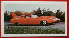 Barratt THUNDERBIRDS 2nd Series Card #5 - Alan Tracy's Sports Car