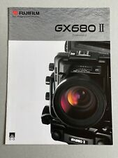 Fuji GX680 II Camera, A4, 6 Page Fold Out. Product Brochure