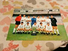 REAL MADRID FC, 1967-1968, TEAM, REAL PHOTO POSTCARD