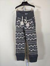 Dsquared2 Heavy Duty Fair Isle Chunky Knit Sweater Pants Italy Sample 2015