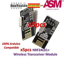 5pcs NRF24L01+ 2.4GHz Wireless Transceiver Module