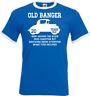 21st Birthday Gifts presents Year 1998 Unisex Ringer T-Shirt Old Banger Car