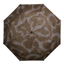 Señoras Minimax Supermini Paraguas plegable resistente al viento-Estampado De Leopardo