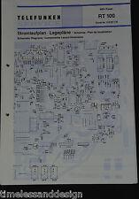 Telefunken Service Hifi-Tuner HT 750 M Schaltplan Lagepläne