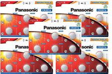 30 x Panasonic CR 2016 3V - 5 x 6er Blister Batterie Lithium Knopfzelle 90mAh