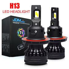 JDM ASTAR 2x 10000LM H13 9008 6500K White LED Headlight Bulbs Kit High/Low Beams