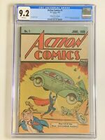 Action Comics #1 - CGC 9.2 - Safeguard Promotional 1976 - Reprints 1st Superman