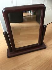 Vintage Wooden Dressing Table Mirror