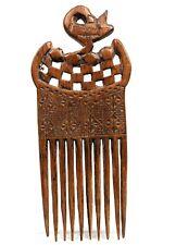 Art Africain Arts Premiers - Superbe Peigne Ashanti - African Comb - 24,5 Cms ++