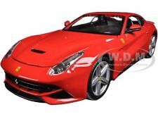 FERRARI F12 BERLINETTA RED 1/24 DIECAST MODEL CAR BY BBURAGO 26007