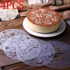 Tools Baking Decorating Stencils Birthday Party Flower Heart Cake Mold Mould