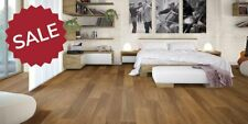 189mm Smoked Brushed And Oiled Engineered Oak Wood Flooring 18/4 Thick