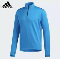 Mens Adidas Running Half Zip Pull Over Boston Marathon 2019 Size Large DX8718