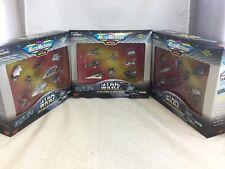 3 Star Wars Micro Machines Collectors Ed. New Hope Empire Strikes Return Jedi