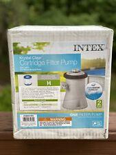 *SHIPS TODAY* Intex 28601EG 330 GPH Above Ground Pool Cartridge Filter Pump NEW