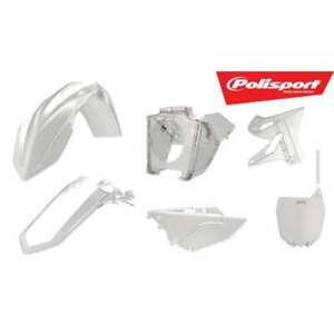 Kit plastique Polisport transparent/restyle Yamaha YZ 125/250
