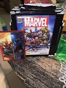 2020 PANINI MARVEL COMICS 80 YEARS ANNIVERSARY STICKER PACKS Spiderman and more!