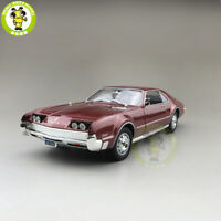 1/18 1966 OLDS MOBILE TORONADO Road Signature Diecast Model Car Toys Red