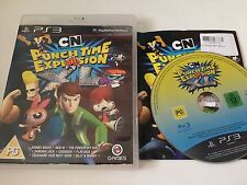 Cartoon Network Punch Time Explosion Pour Sony PlayStation 3 Jeu PS3 Complet