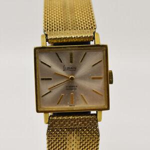 Rare Liban / Lebanon Rolled Gold Swiss ladies watch by Lebanese-Swiss watchmaker
