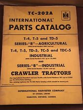 International Harvester TC-202 International Parts Catalog