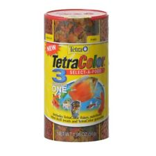 TetraColor Select A Food for Fish - Flakes, Granules & Krill - 1.98 oz