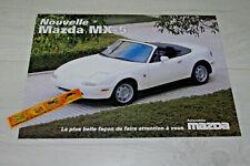 MAZDA mx-3 prospetto di 1993