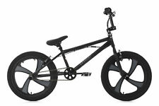 "BMX Freestyle 20"" Rise Noir-Gris Rotor 360 V-Brake KS Cycling 646B"