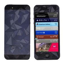 3D Diamond Front Back Anti-Glare Matte Screen Protector for iPhone 5 5G 5S #TRC
