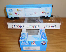 LIONEL 6-83925 FROSTY THE SNOWMAN BOXCAR O GAUGE TOY TRAIN CHRISTMAS FREIGHT NIB