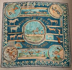 Hermes Silk Scarf - 90cm Preowned In Good Condition