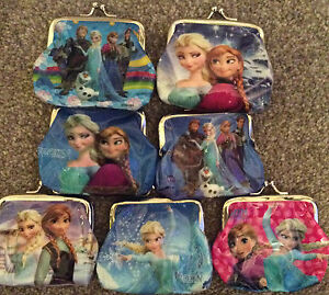 Frozen Purse Chose of 6 Deigns UK SELLER ( FREE DELIVERY )