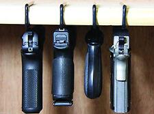 Gun Storage Solution Safe Pistol Rack Accessories Original Handgun Hanger 4 Pack