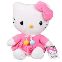 "12"" 30Cm Licensed Sanrio Hello Kitty Skirt Plush Toys Soft Stuffed Cat Doll"